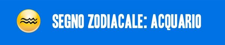 segno zodiacale acquarioVERT