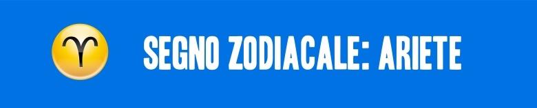 segno zodiacale ariete VERT
