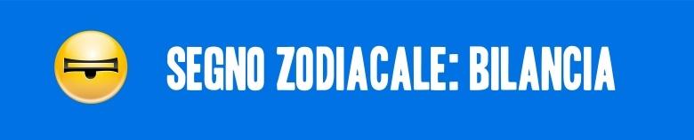 segno zodiacale bilancia VERT