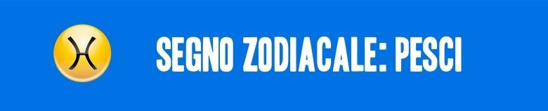 segno zodiacale pesci VERT