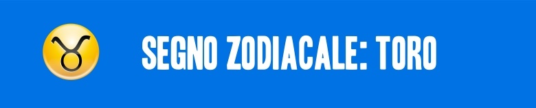 segno zodiacale toro VERT