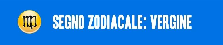 segno zodiacale vergine VERT
